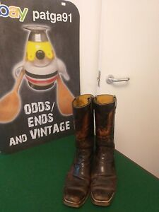 Wrangler pre owned  leather cowboy boots