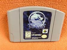 Mortal Kombat Sub Zero *Cart Only* Nintendo 64 N64 *Authentic* Super FREE SHIP!