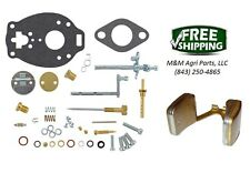 Carburetor kit & Float Ford 600 620 630 640 650 660 700 740 Tractor TSX580 Carb