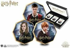 WIZARDING WORLD OFFICIAL HARRY POTTER CHARACTER COLLECTOR EDITION BOX SET