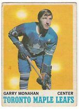 1970-71 OPC HOCKEY #112 GARRY MONAHAN - VERY GOOD-