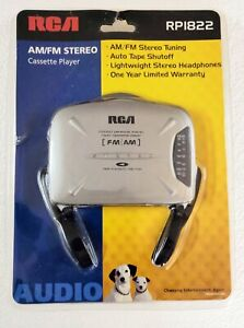 RCA FM/AM Personal Stereo Radio Cassette Player RP1822