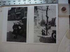 Vintage Photo-2 Photos Sweitzer Album 800 Block Walnut 1920 Allentown PA 1993 #2