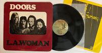 The Doors - LA Woman - 1971 US 1st Press Window Cover / Crucifix Inner (EX)