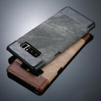 For Samsung Galaxy Note 8 S8 Plus Luxury Hybrid PU Leather Back Slim Case Cover
