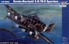 Trumpeter 1/48 Savoia-Marchetti S.M.79-II Sparviero # 02817