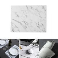 1PC Marble Pattern Dining Table Place Mats Heat Insulation Non Slip Placemat