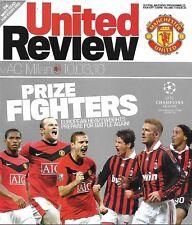 Programma CALCIO > Man Utd V AC MILAN MAR 2010 UCL