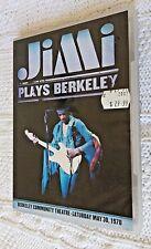 JIMI PLAYS BERKLEY (DVD) REGION-ALL, LIKE NEW, FREE POST WITHIN AUSTRALIA