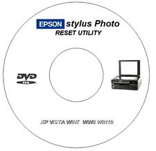 EPSON PX720WD rifiuti INCHIOSTRO errore CONTATORE PAD RIPRISTINA RIPARAZIONE CD DVD per Windows 7 8 10