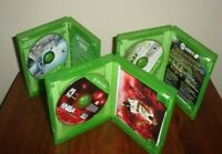 Lot of 3 Xbox One sports games Madden NFL 16, NBA 2K14, FIFA 15 Excellent Condi