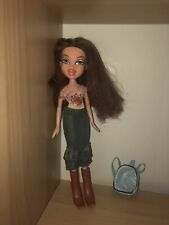 Bratz Brown Haired Dana Doll With Full Outfit And Bookbag