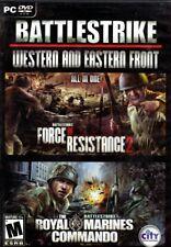 Royal Marines Commando / Battlestrike Force of Resistance 2  (2 PC Games)