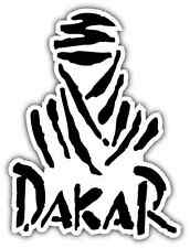 "Dakar Rally Car Bumper Window Tool Box Notebook Sticker Decal 4""X5"""