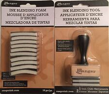 Ranger Ink Blending Tool And 10 Pack Ink Blending Foam