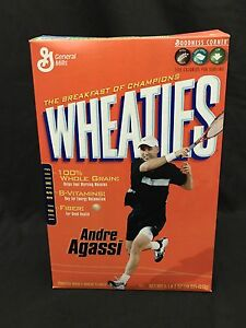 Andre Agassi Wheaties Box