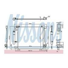 Fits Nissan Juke F15 1.5 dCi Genuine OE Quality Nissens A/C Air Con Condenser