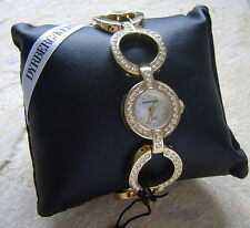 Sg / Crystal Sale Dyrberg/Kern Fantastic Jewelry Watch Tzarina