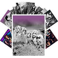 Postcards Pack [24 cards] Deep Purple Hard Rock Music Vintage Posters CC1273