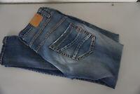 PLEASE Damen Jeans slim fit stretch Hose Gr.XS 26/30 W26 L30 used blau TOP #E11