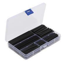 150Pcs Wire Black Case Set heat shrink tubing Wrap Tube Assorted Sleeves