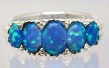 Ringe mit Opal Edelsteinen aus Sterlingsilber Synthetisch hergestellte-Sets