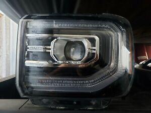 2016-2018 GMC SIERRA 1500 LEFT DRIVER FULL LED HEADLIGHT HEADLAMP OEM 84046788