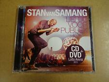 CD + DVD / STAN VAN SAMANG - LIEFDE VOOR PUBLIEK