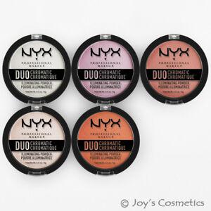 "1 NYX Duo Chromatic Illuminating Powder ""Pick Your 1 Color"" Joy's cosmetics"