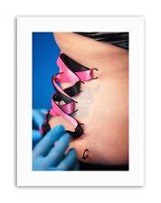 Corsetto Piercing Barra Multifunzione Fetish FOTO POSTER FOTO STAMPE SU TELA ART
