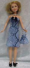 MARY KATE & ASHLEY Olsen Twins Doll Clothes #02 Dress, Necklace & Purse Set