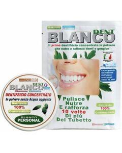 BlancoDent Dentifricio Senza Fluoro in Polvere e Collutorio Naturale Blanco dent