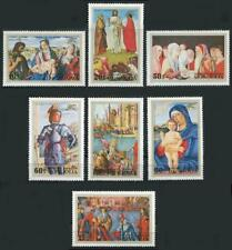 Mongolia: 1972 Paintings By the Venetian Masters (686-692) MNH