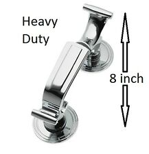 LARGE DOCTOR DOOR KNOCKER HEAVY DUTY CHROME Quality Classic Traditional Finish