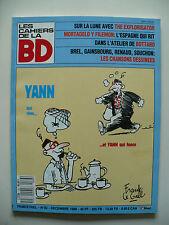 Magazine (très bel état) - Les cahiers de la bande dessinée 83 (Frank Le Gall)
