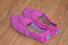 Toms girls kids shoes size 1.5 Y