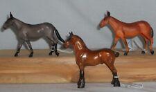 Stone Horse Chip 2 Mules Dun & Sorrel 2007 & Tsc Sr Le Amber Drafter 2005