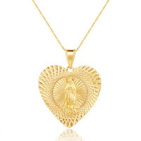 18k Gold Plated Stunning Various Pendant Designs Necklace Cross Crucifix Mary