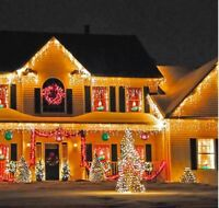 """6 Big 14"""" Inflatable Christmas Holiday Hanging Ornaments Yard Home Decorations"""
