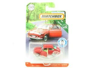 Matchbox FWD29 65 Volkswagen Type 3 Fastback Moving Parts 1 64 Scale Sealed New