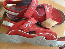 CHAUSSURES SANDALETTES TIMBERLAND NEUVES ROUGES junior 39
