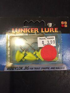 Lunker Lure Bodylok Jig 1/4 Oz Qty 4 Chart