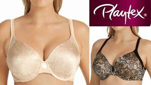 Playtex Modern Curvy T-Shirt Underwire Bra Plus P4848 14 16 18 20 22 C D DD E F
