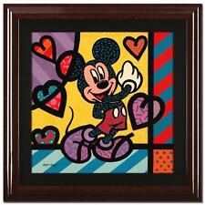 """""""MICKEY (MOUSE)"""" by VALTER DE MORAIS. FRAMED ORIGINAL ACRYLIC PAINTING ON CANVAS"""