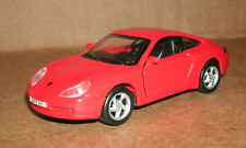 1/38 Scale 1997 Porsche 911 Carrera Diecast Model Car - Red 993 Coupe - Maisto