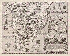 MAP ANTIQUE 1598 PIGAFETTA SOUTH AFRICA MADAGASCAR LARGE ART PRINT POSTER LF1728