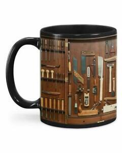 Carpenter's woodworking tools toolbox set wooden tools - Coffee Mug Gift