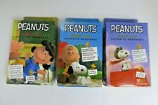 Adhesive Bandages First Aid Peanuts lot of 3 Boxes Charlie Snoopy Lucy Free Ship