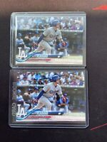2018 Topps Series 1 #281 Alex Verdugo Dodgers/Red Sox Rookie RC - Lot x2