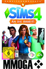 Die Sims 4 An die Arbeit Addon - EA Origin PC Key The Sims 4 Get to work DLC EU
